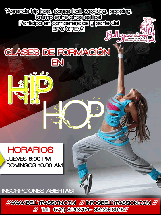 Clases de hip hop bogota bellypassion Mayo 2016 subir