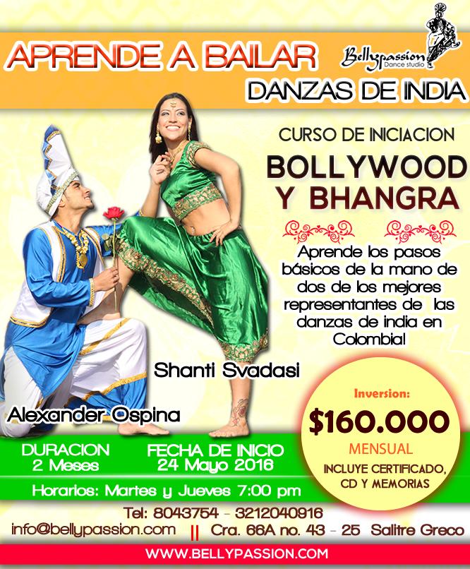 Iniciacion Bollywood Bhangra Mayo 2016 subir